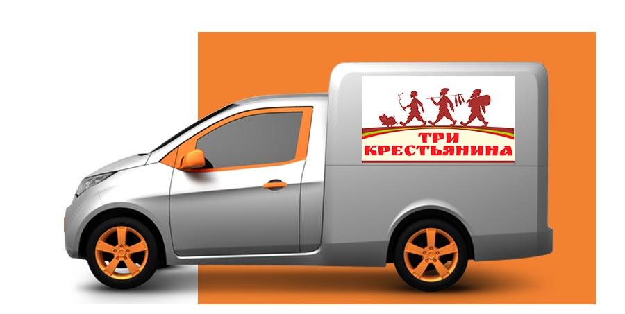 Натуральные фермерские продукты с доставкой по Москве и Московской области от Три Крестьянина