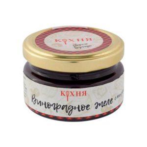 Виноградное желе с миндалем